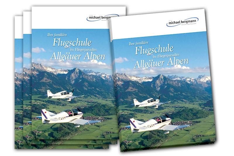 Flugschule Durach, Imageprospekt