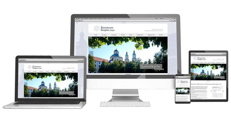 Werbeagentur Kempten - Internetseiten