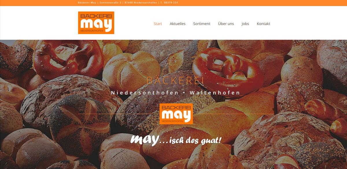 Webseite / Internetseite / Homepage erstellen lassen in Kempten
