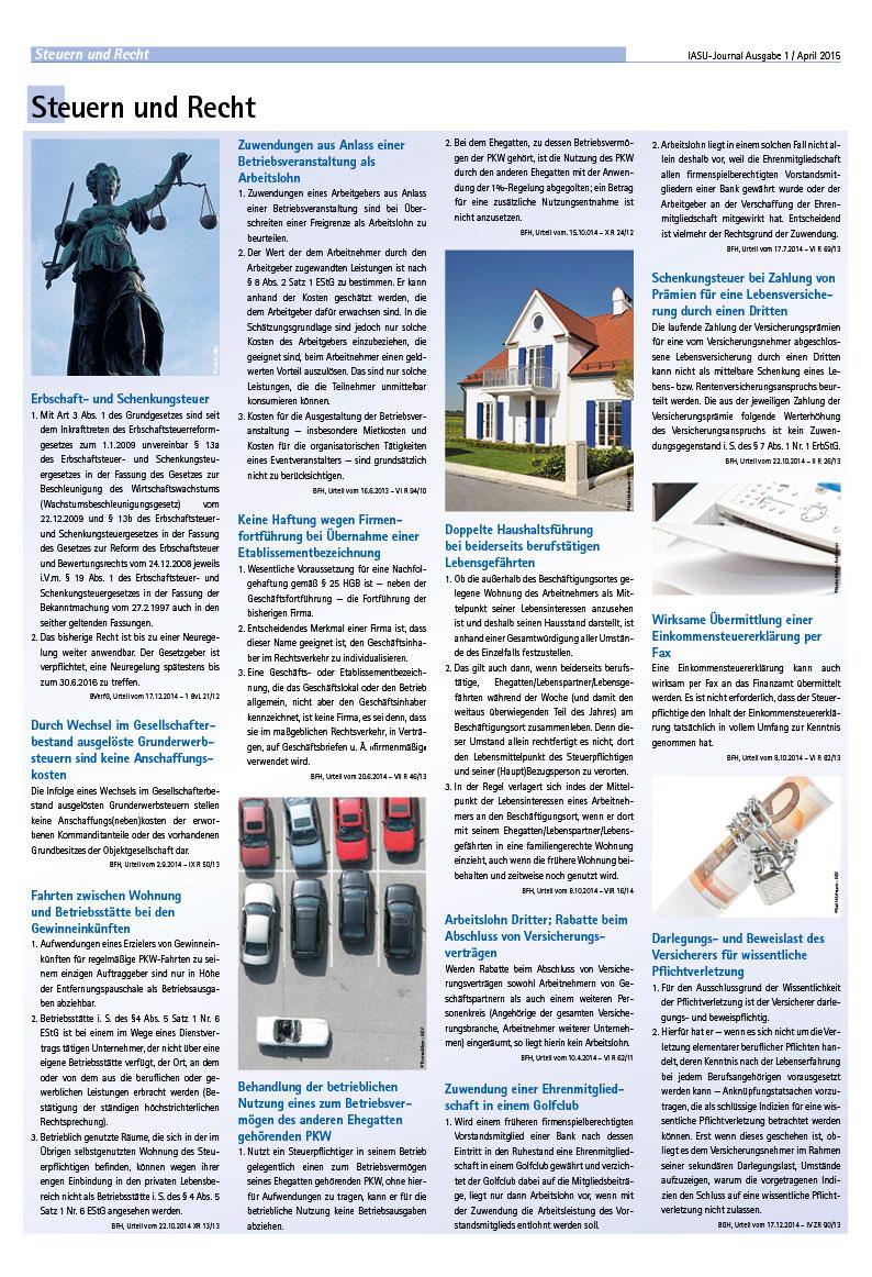 Werbeagentur Kempten, Journal, Magazin